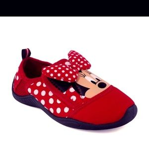 DISNEY Minnie Mouse Water Shoes Kids 11/12